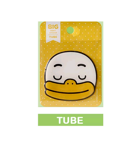 Kakao Friends Official Tube Face Sticker
