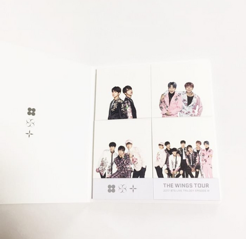 BTS - Sticky Note Set (Wings Tour)