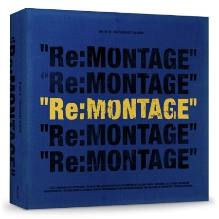 Block B - RE:Montage (Repackage Album)