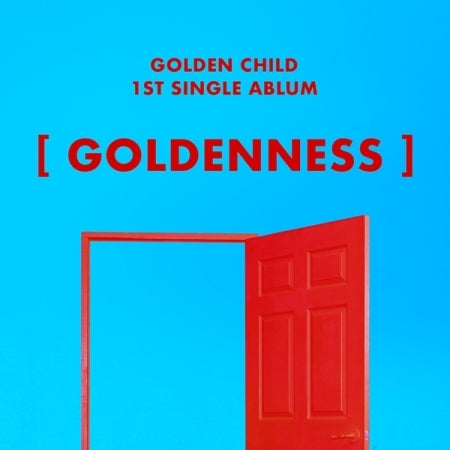 Golden Child -Goldenness (1st Single Album) + Unfolded Poster