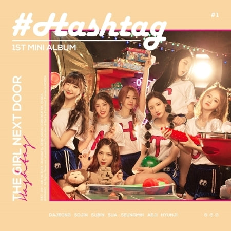 Hashtag - The Girl Next Door (1st Mini Album)
