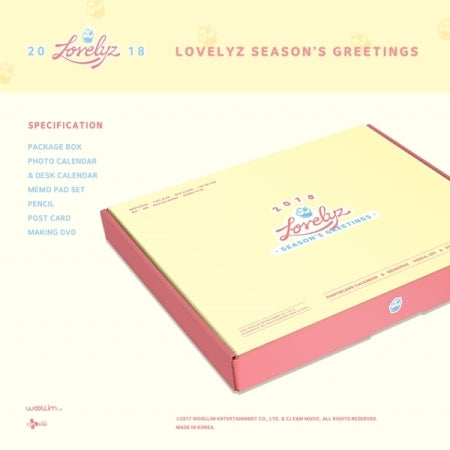 Lovelyz - 2018 Season's Greetings