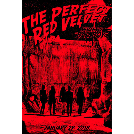 Red Velvet - Vol.2 Repackage (The perfect Red Velvet) + Unfolded Poster