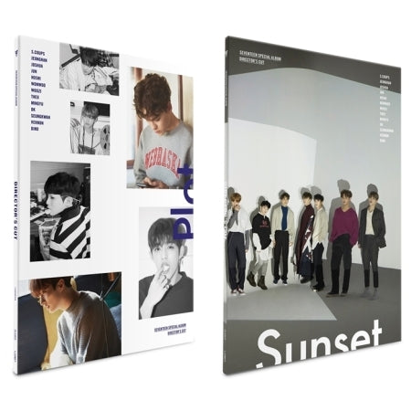 Seventeen - Director's Cut (Special Album) + Unfolded Poster