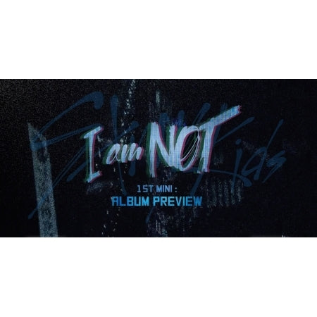 Stray Kids - I Am Not (1st Mini Album) + Unfolded Poster
