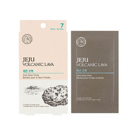 The Face Shop - Jeju Volcanic Lava Aloe Nose Strips