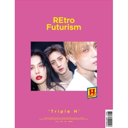 Triple H - Retro Futurism (2nd Mini Album)