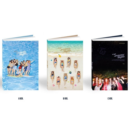 Twice - Summer Nights (2nd Special Album) + Unfolded Poster