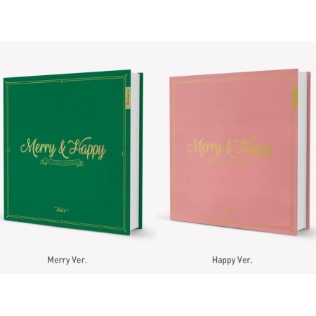 Twice - Vol.1 Repackage (Merry & Happy) + Unfolded Poster