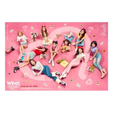 Twice - What is Love (5th Mini Album) + Unfolded Poster
