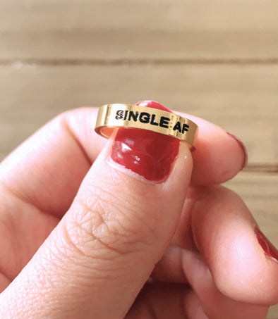single af ring - UntamedEgo LLC.