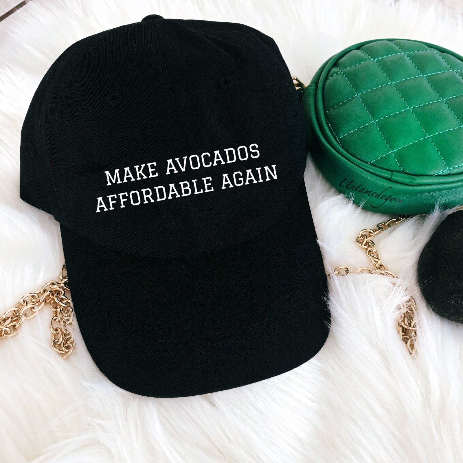 f273e53c7e1b8 Make Avocados Affordable Again Cotton Dad Hat – UntamedEgo LLC.
