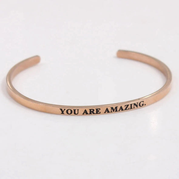 You Are Amazing Cuff
