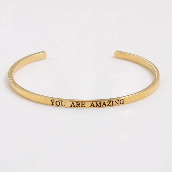 You Are Amazing Cuff - UntamedEgo LLC.