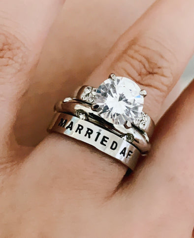 Married Af Ring
