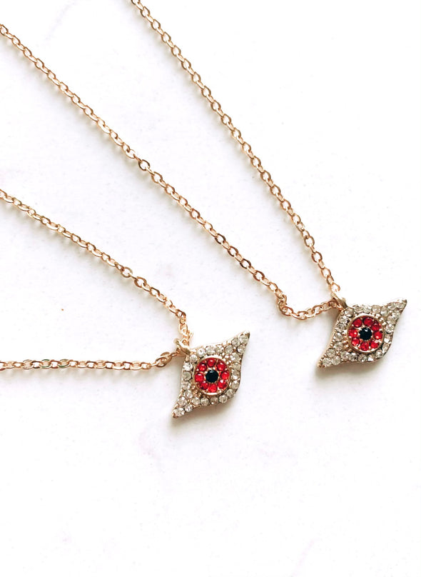 Evil Eye Charm Necklace - UntamedEgo LLC.