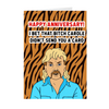 Tiger King Anniversary Card