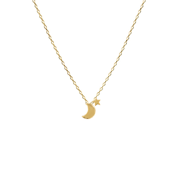 Crescent Gold Dipped Choker Necklace - UntamedEgo LLC.