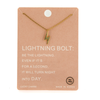 Dainty Lighting Bolt Necklace - UntamedEgo LLC.