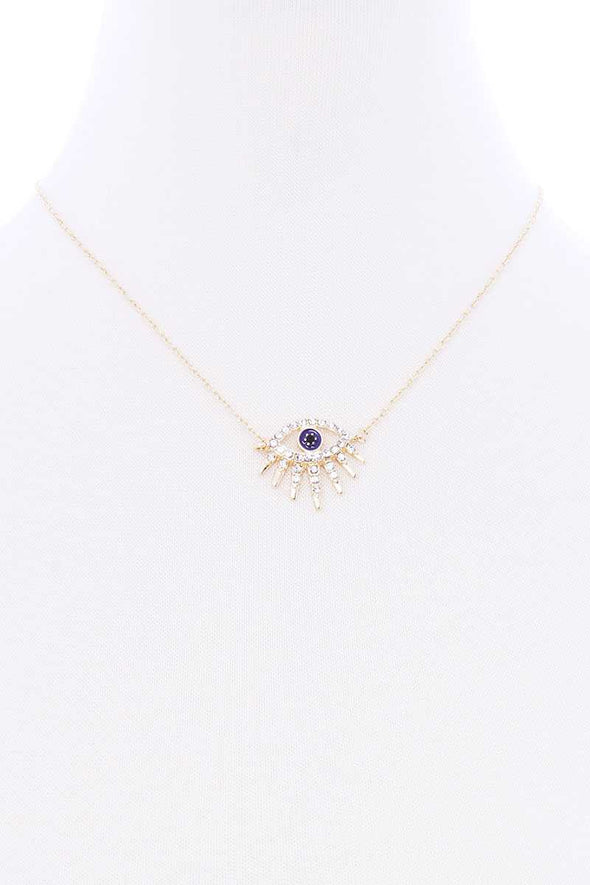 Evil eye Dainty Necklace - UntamedEgo LLC.