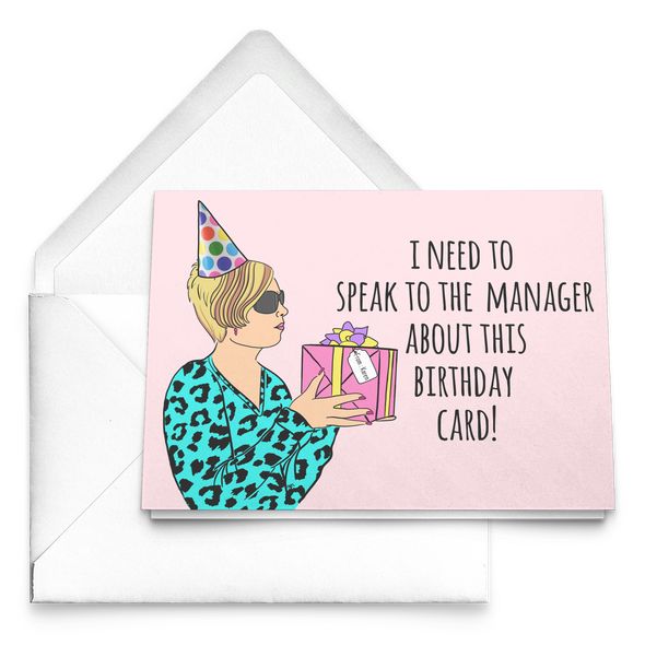Karen Birthday Card - UntamedEgo LLC.