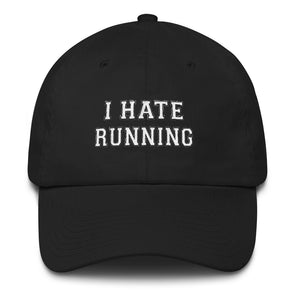 I Hate Running Hat