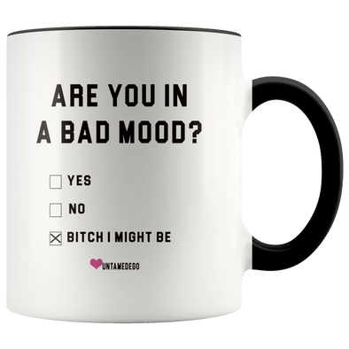 Are you In A Bad Mood? Bitch, I Might Be Mug