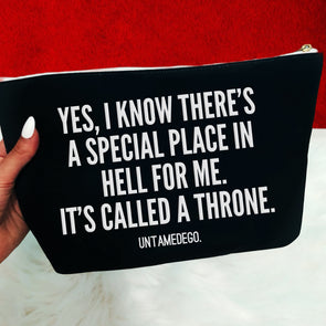 Special Place In Hell Cosmetics Bag - UntamedEgo LLC.