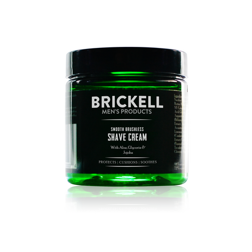 BRICKELL SMOOTH BRUSHLESS SHAVE CREAM 5 OZ