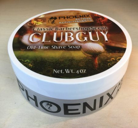 PHOENIX CLUBGUY OLD TIME SHAVE SOAP 4 OZ