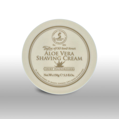 TAYLOR OF OLD BONDS STREET ALOE VERA SHAVING CREAM 5.3 FL OZ