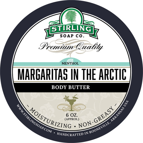 STIRLING SOAP CO MARGARITAS IN THE ARCTIC BODY BUTTER 6 OZ