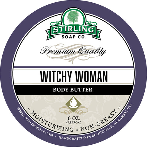 STIRLING SOAP CO WITCHY WOMAN BODY BUTTER 6 OZ