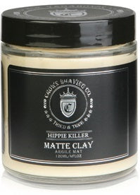 CROWN SHAVING CO HIPPIE KILLER MATTE CLAY 4 FL OZ