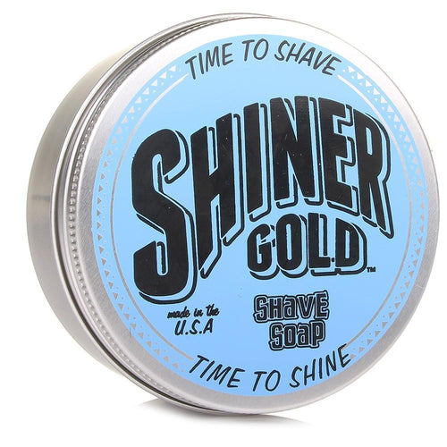 SHINER GOLD SHAVE SOAP 3 OZ