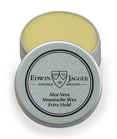 EDWIN JAGGER MOUSTACHE WAX EXTRA HOLD 0.5 FL OZ