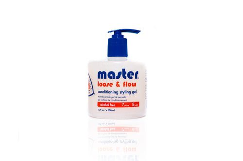 MASTER LOOSE & FLOW CONDITIONING STYLING GEL 16.9 OZ
