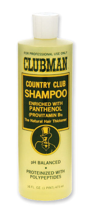 CLUBMAN COUNTRY CLUB SHAMPOO 16 FL OZ
