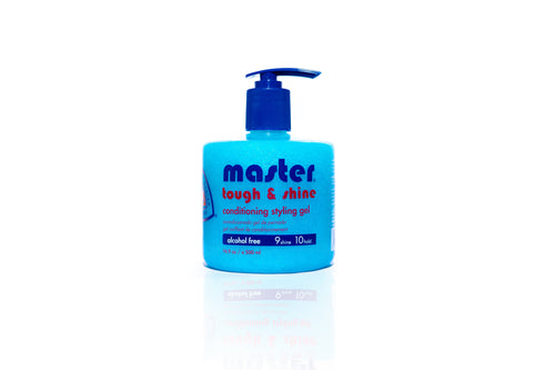 MASTER TOUGH & SHINE CONDITIONING STYLING GEL 16.9 OZ