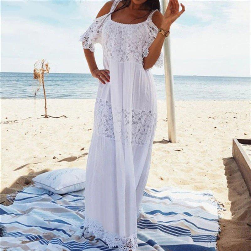 Amelia Lace Beach Dress WickedAF