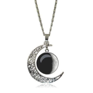 Double Moon Necklace (8 Colors) WickedAF 3