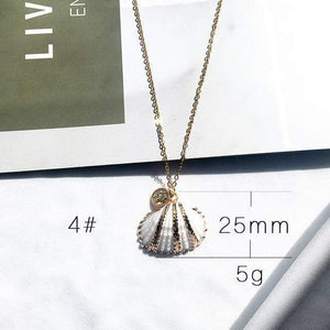 Sea Shell Pendant Necklace (13 Styles) WickedAF 4