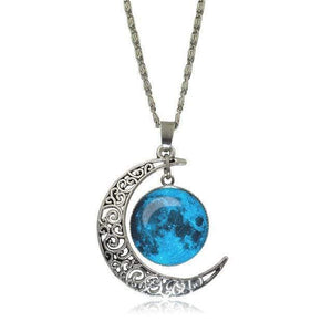 Double Moon Necklace (8 Colors) WickedAF 5