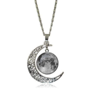 Double Moon Necklace (8 Colors) WickedAF 6