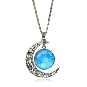 Double Moon Necklace (8 Colors) WickedAF 7