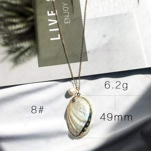 Sea Shell Pendant Necklace (13 Styles) WickedAF 8