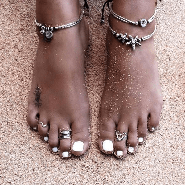 Bohemian Starfish Anklet anklet WickedAF