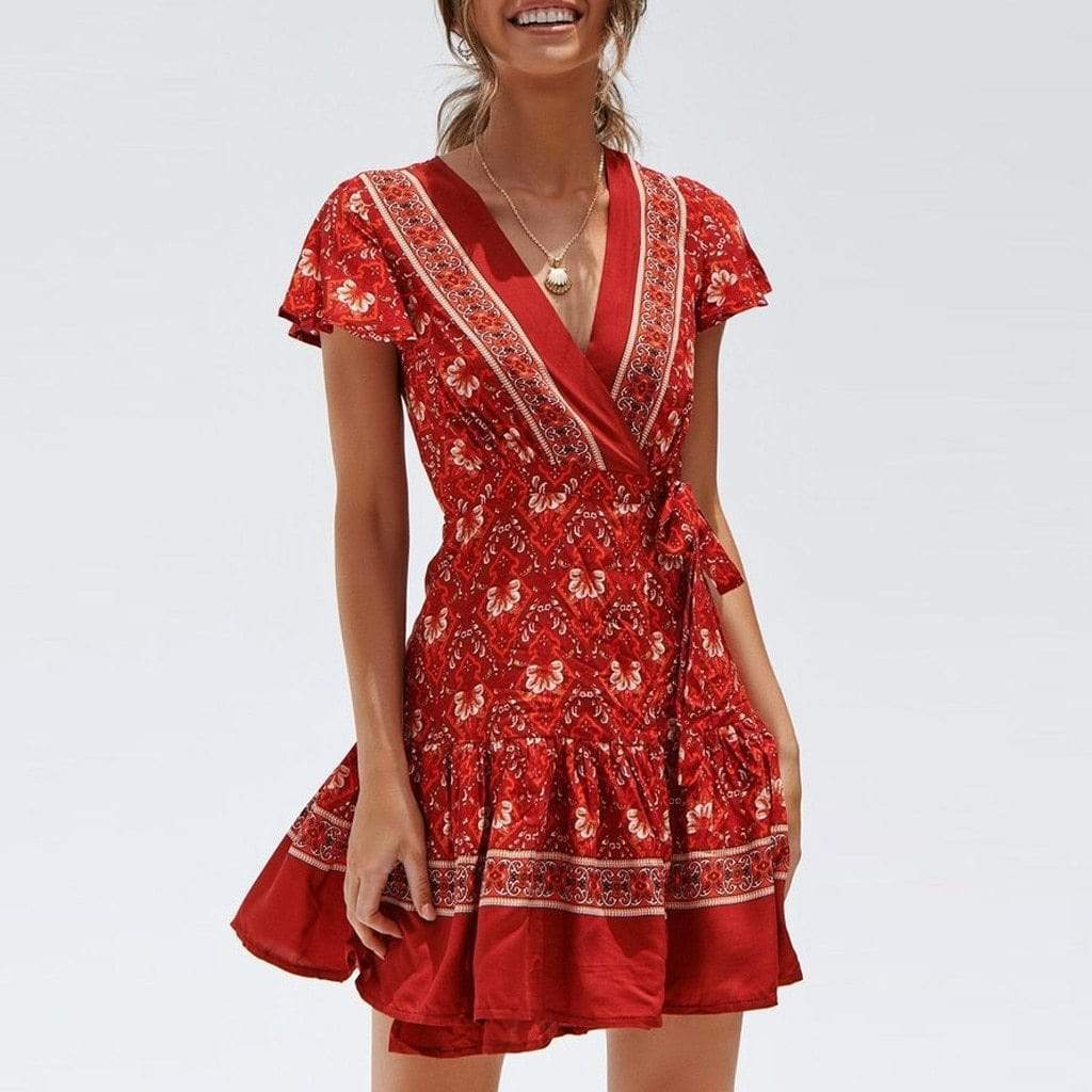 Augusta Boho Dress WickedAF