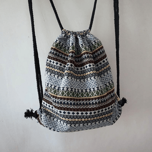 Hippie Drawstring Backpack (5 Styles) backpack WickedAF 5