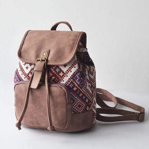 Bohemia Geometric Backpack backpack WickedAF Lavender